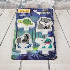 Disney Pocahontas Candles Meeko Percy Flit Turtle